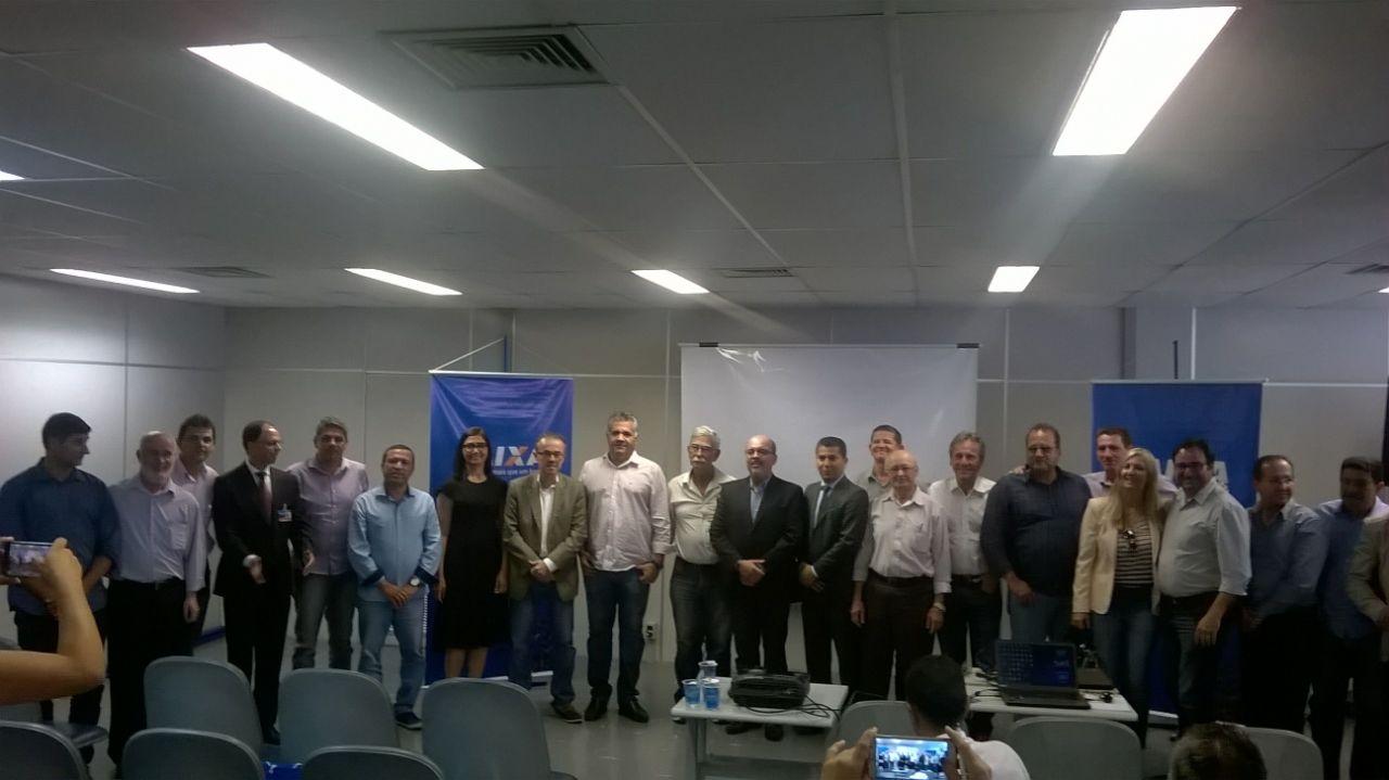 CIVALERG/AMVAGRA/CAIXA ECONÔMICA FEDERAL COM PREFEITOS ELEITOS