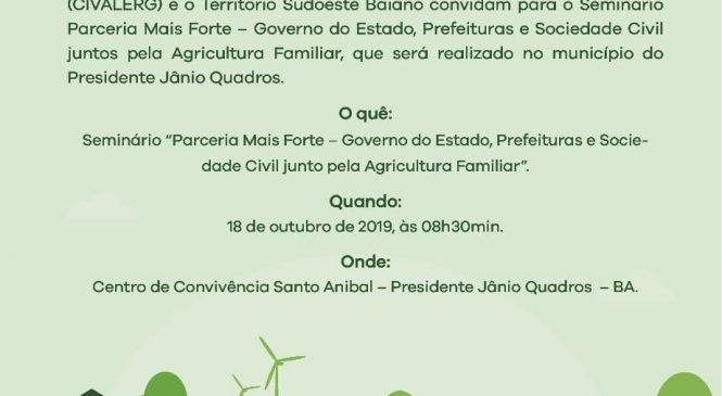 CIVALERG REUNIRÁ PREFEITOS EM PRESIDENTE JÂNIO QUADROS
